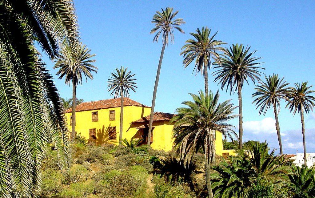 The picturesque Castro Mansion.